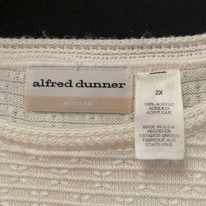 Alfred Dunner Sweaters - Alfred Dunner woman's sweater. Size 2X.